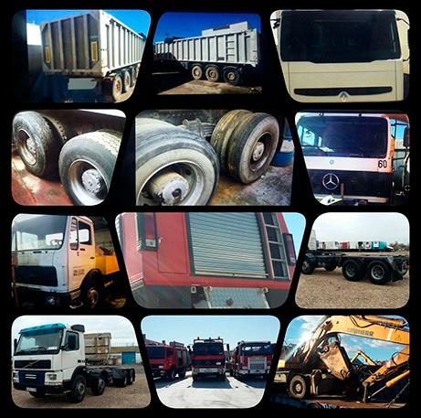 Desguace de vehículos camiones o autobuses